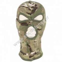 Cagoule Balaclava, 3 trous, souple, multicam operation camou