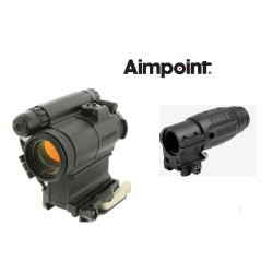 Kit complet Aimpoint® comp M5 + magnifier x3