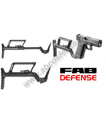 Crosse tactique Fab Defense pour Glock 17