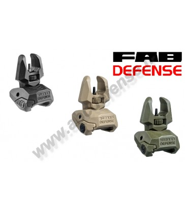 Viseur avant repliable FBS Fab Defense