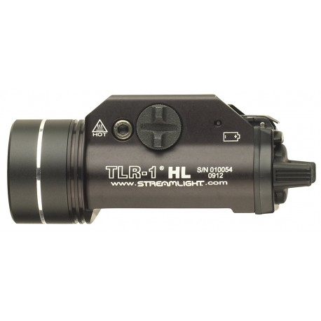 LAMPE STREAMLIGHT TLR-1 HL - NOIRE