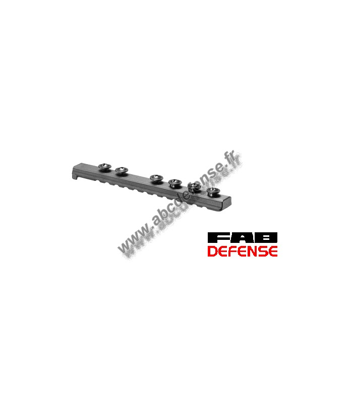 Rail Picatinny universel UPR16/4 Fab Defense