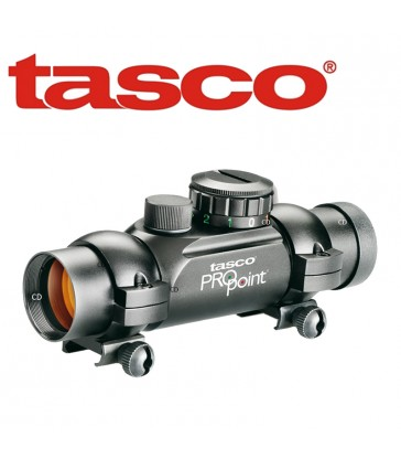 Tasco Propoint 1x26, réticule 5 M.O.A rouge/ vert