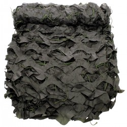 "Filet camouflage, 2x3m, ""Basic"", avec sac de PVC"